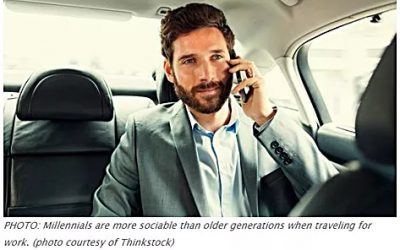 Business Travel Habits by Generation