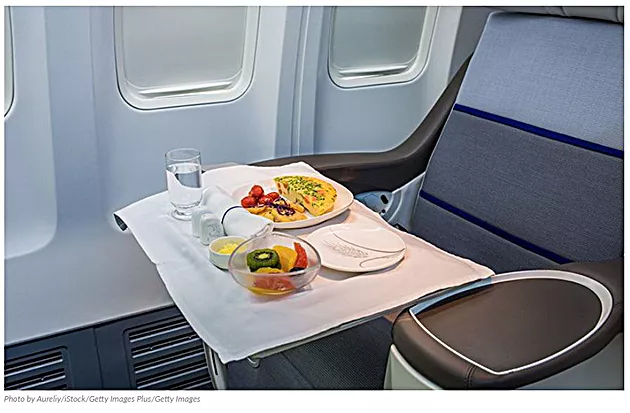 Can You Ask for an Extra Plane Meal After You've Finished Your First One?